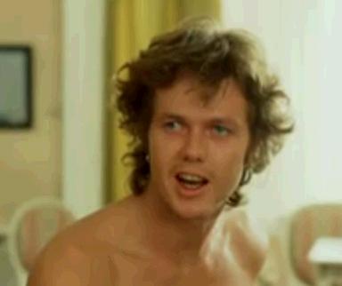 """Göran Stangertz som Jack efter att ha yttrat de bevingade orden """"Okay man, draw"""""""