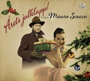 Omslaget till Mauro Scoccos julskiva Årets julklapp