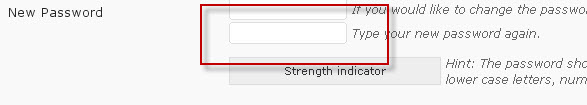 Välj ett nytt lösenord som är enklare att komma ihåg.