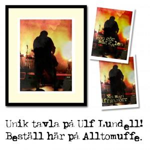 RockArt - egen tavla med Ulf Lundell