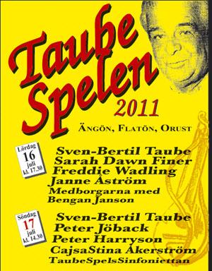 Taubespelen 2011, där Ulf Lundell tilldelas Evert Taube priset