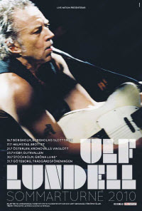 Sommarturné med Ulf Lundell 2010