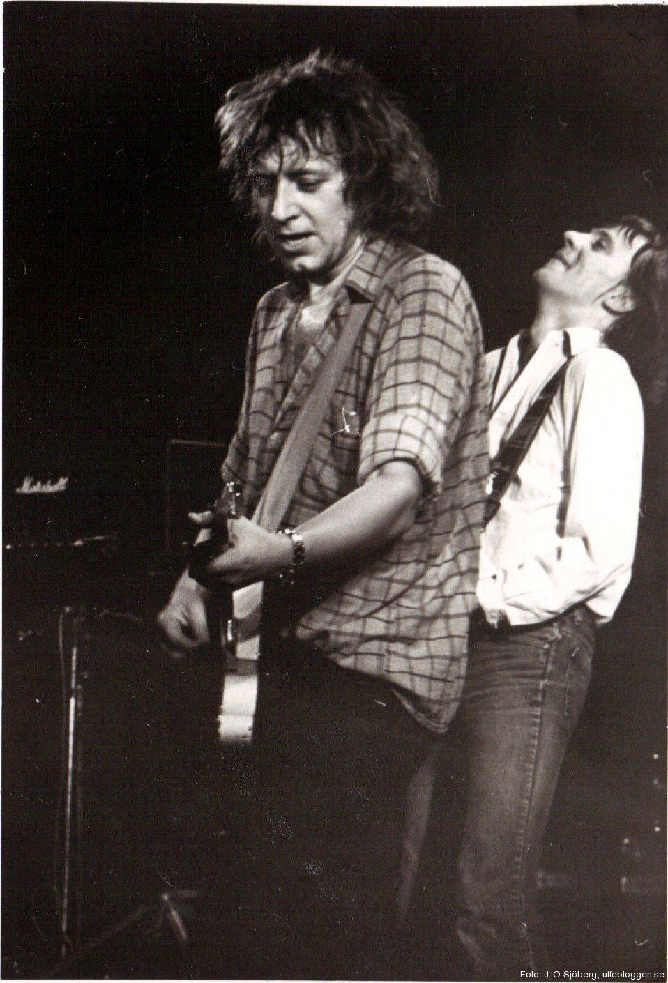 Uffe och Mats Ronander, konserthuset i Örebro, 13 oktober 1980