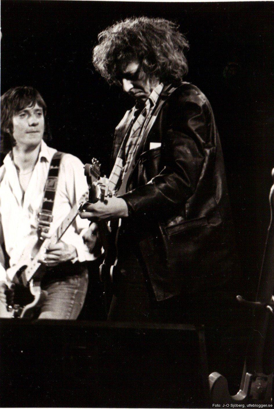 Ulf Lundell och Mats Ronander, konserthuset i Örebro, 13 oktober 1980