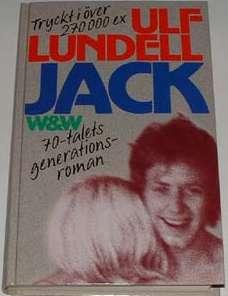 1993 års upplaga av Ulf Lundells roman Jack