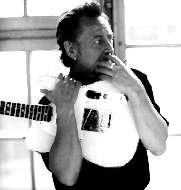 Ulf Lundell med gitarr