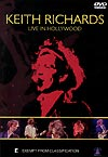 Keith Richards Live in Hollywood (DVD)