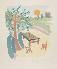 Sånger - Ett stenbord i Toscana