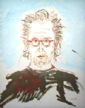 Ulf Lundell - självporträtt