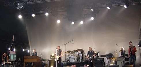Ulf Lundell med band i Slottsparken Linköping