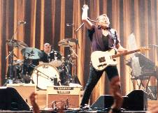 Ulf Lundell med band i Malmö 2000
