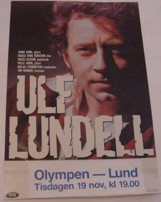 Turnéposter 1985