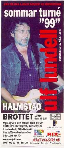 Reklamblad Halmstad 1999