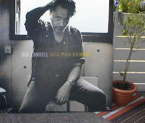 Reklamaffisch för CD:n Män utan kvinnor