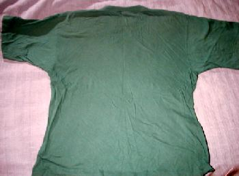 T-tröja grön bak sommarturnén 1997