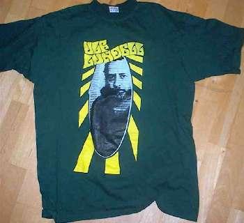 T-tröja grön fram sommarturnén 1999