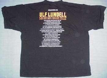 T-tröja svart bak sommarturnén 2002