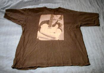 T-tröja svart fram Sommarturnén 1994