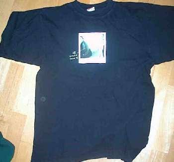T-tröja svart fram sommarturnén 1997