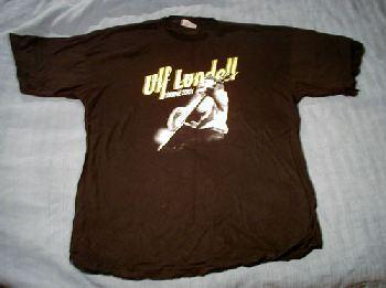 T-tröja svart vårturné 2001