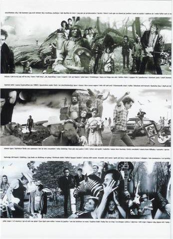 Reklammaterial för skivan Fanzine - promotionaffisch, variant 2