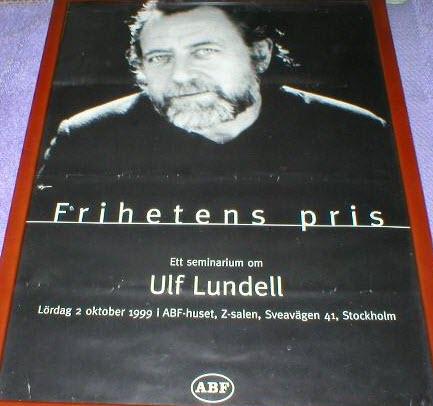 Utställningsaffisch Frihetens pris 1999