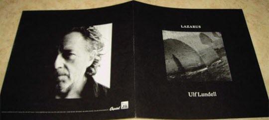 UReklammaterial för skivan Lazarus - promoblad