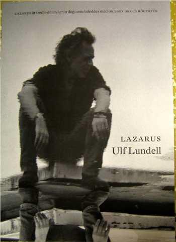 Reklammaterial för skivan Lazarus - poster