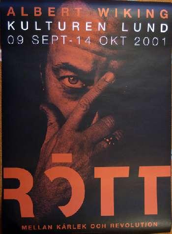Utställningsaffisch Kulturen Lund 2001