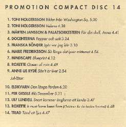 EMI promotion compact disc 14