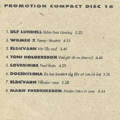 EMI promotion compact disc 16