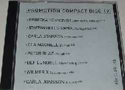 EMI promotion compact disc 19