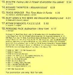 EMI summer hits -91