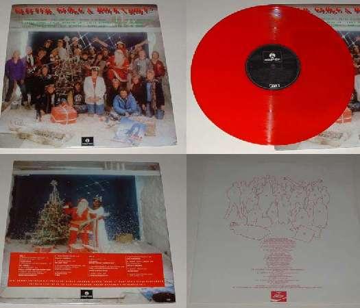 Vinylversionen av Glitter, glögg och rock'n'roll
