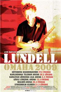 Ulf Lundell vårturné 2009 Omaha