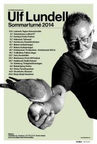 Ulf Lundell inleder sommarturnén 2014 i Leksand