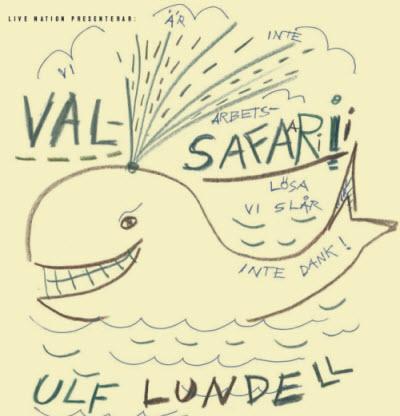 Ulf Lundell valsafari 2014
