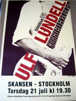 Turnéposter sommaren 2005, Skansen, Stockholm den 21 juli