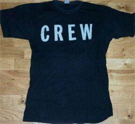 T-tröja för Ulf Lundells crew under höstturnén 1985