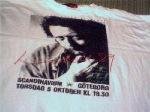 T-tröja höstkonsert 1989, vit