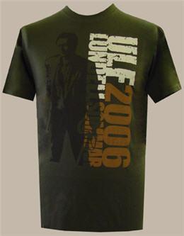 T-tröja sommaren 2006, olivgrön