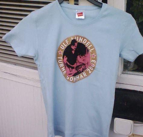 T-tröja från sommaren 2003, ljusblå