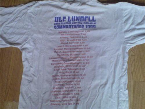 T-tröja vit bak sommarturnén 1999