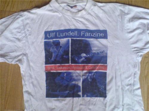 T-tröja vit fram sommarturnén 1999
