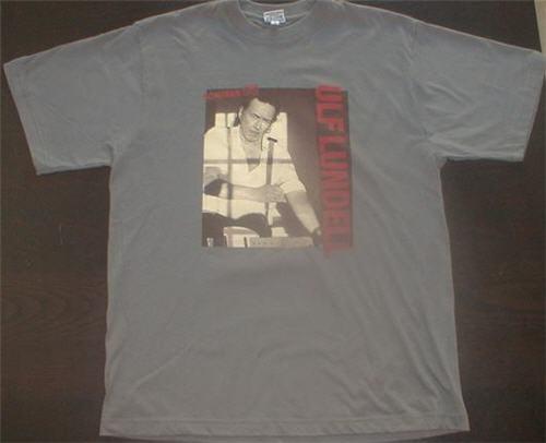 T-tröja från Ulf Lundells sommarturnén 2005, grå, fram