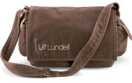 Chokladbrun väska från Ulf Lundells höstturné 2008