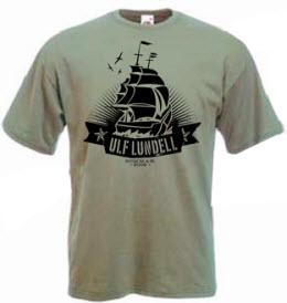T-tröja från Ulf Lundells sommarturné 2009, herr, grå, segelbåtsmotiv