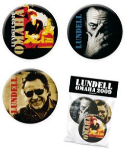 Badges från Ulf Lundells vårturné 2009