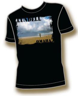 T-tröja från Ulf Lundells vårturné 2009, herr svart